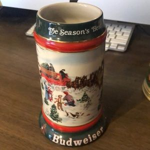 "Budweiser ""The Season's Best"" Stein"